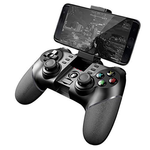 Manette sans Fil, contrôleur de Jeu Joystick PC avec Turbo Dual-Vibration et Boutons de déclenchement, avec récepteur pour PS3 / Android/iOS/Win XP / 7/8/10