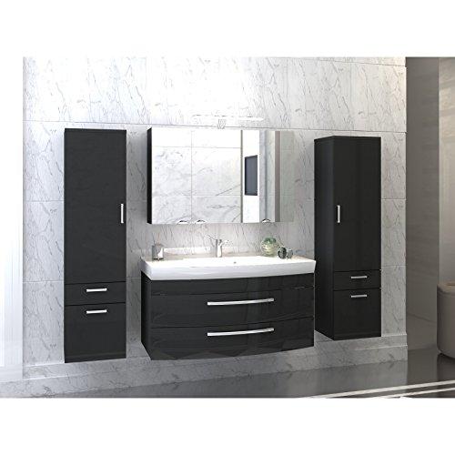 badmöbelset Juego de Muebles de baño para baño Antracita/Antracita.