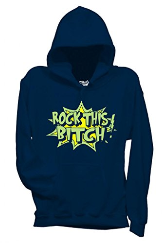 Sweatshirt Rock This Bitch - Drole By Mush Dress Your Style - Homme-L-Bleu