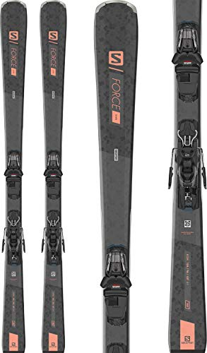 Salomon S/Force 5 Womens Skis W/L 10 GW Bindings Sz 150cm