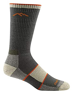 Darn Tough Coolmax Boot Full Cushion Sock - Men's Olive Large