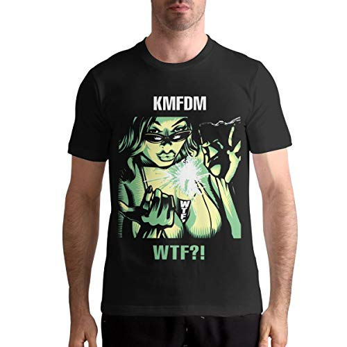Kina D Wilson KMFDM Retro T Shirt Men