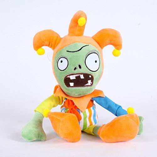 30 cm piante contro zombi giocattoli di peluche bambola pvz pagliaccio zombi piante vs zombi morbidi giocattoli di peluche per bambini bambini regali interessanti