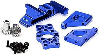 Integy RC Model Hop-ups T3285BLUE Brushless Conversion Motor Mount Set for 1/10 Revo 3.3 & Slayer (Both)