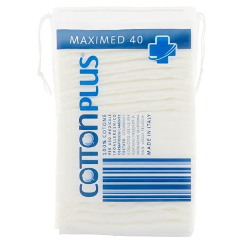 Cotton Plus Maximed Lot de 40 disques de 58 g