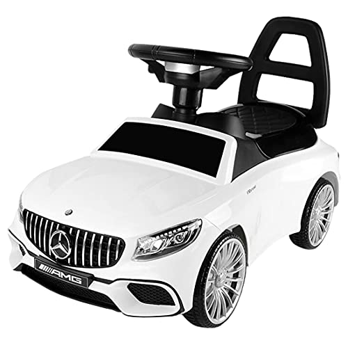 HT5528 Mercedes-Benz AMG65 auto scivolo, veicolo per bambini patente auto per bambini LED bianco