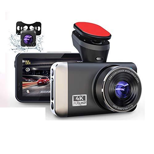 Cámara de Tablero Cámara DVR Cámara 4K y 1080P Video Recorder WiFi Speed N GPS Dashcam Dash CAM Coche Registrador Spuer Night Vision (Color Name : CD5W, SD Card Memory : 32G Card)