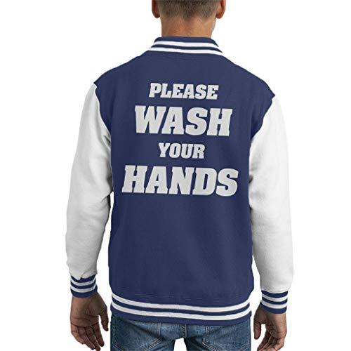 Was uw handen Varsity Jas kind