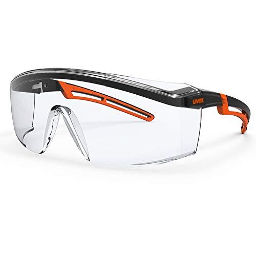 Transparent Schutzbrille - Anti Nebel Staubdicht Spritzfest Anti UV - zum Labor Arbeitsplätze - Augenschutz