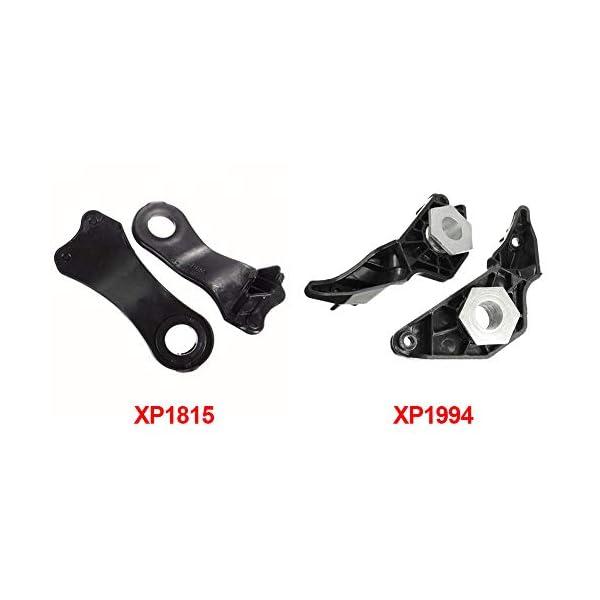Auto-Clips-Set-2-Paar-einfache-Installation-Halogen-Scheinwerfer-E61-525-hitzebestndig-Lampenhalterung-528Li-E60-520-Ersatz-523Li-schwarz-fr-BMW