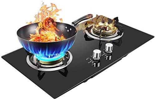 Top 10 Best 2 burner cooktop gas Reviews