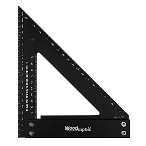 Woodraphic Professional Carpenter Square Layout Tools...