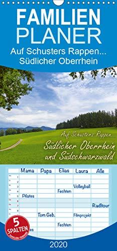 Auf Schusters Rappen... Südlicher Oberrhein und Südschwarzwald - Familienplaner hoch (Wandkalender 2020 , 21 cm x 45 cm, hoch): Wanderparadiese bei ... (Monatskalender, 14 Seiten ) (CALVENDO Orte)