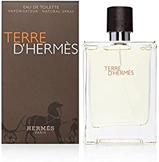 Hermes Terre D'Hermes Eau de Toilette spray for Men, 3.3 Ounce