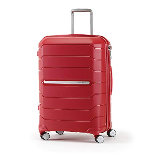Samsonite Freeform Expandable Hardside Luggage with Double Spinner Wheels, Red