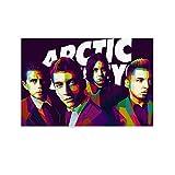 Ales Turner Arctic Monkeys Poster, dekoratives Gemälde,