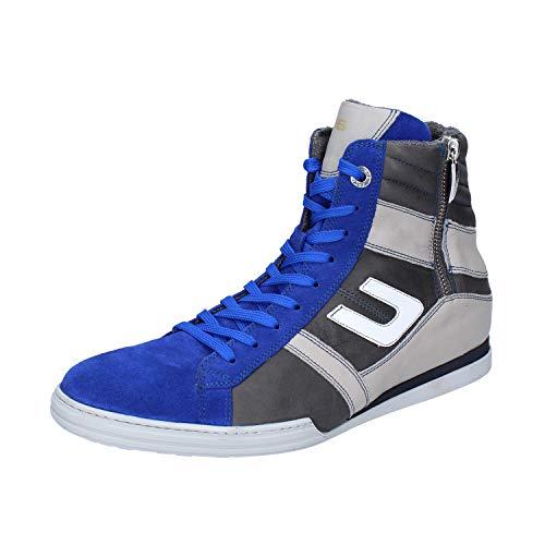 Cesare Paciotti 4US Sneaker Uomo Pelle Blu 40 EU