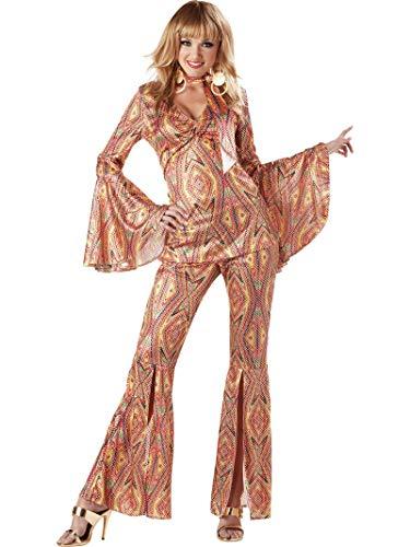 California Costumes Women's 1970s Disco Costume Medium