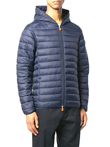 Save The Duck Jacket Winter Man Blue Navy D3065M GIGA9 00009 M