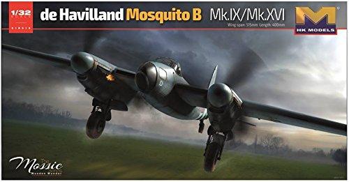 HK MODELS 1/32 Mosquito B MK.IX / MK.XVI The Massie 01E16