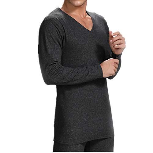 Traje de otoño ropa de otoño pantalones de Felpa temperatura constante sin rastros de otoño e invierno ropa interior térmica para los hombres