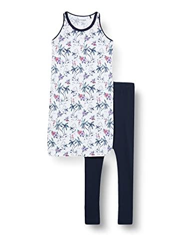 Schiesser Mädchen Sleepshirt 0/0 Nachthemd, Weiss, 140