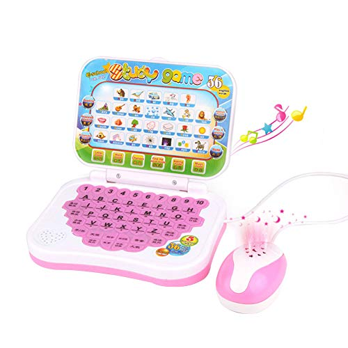Podazz Laptop English Learning Computer Toy Kids Pre School Educational Learning Study Toy Laptop Computer Game for Boy Baby Girl Children Kids