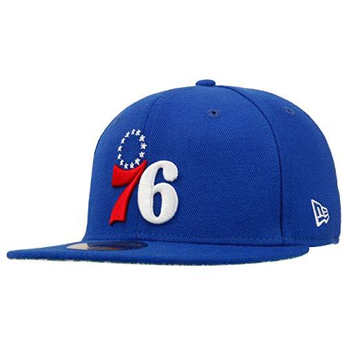 New Era Gorra 59Fifty Paisley Green 76ersEra de Baseball Fitted Cap (7 5/8 (60,6 cm) - Azul)