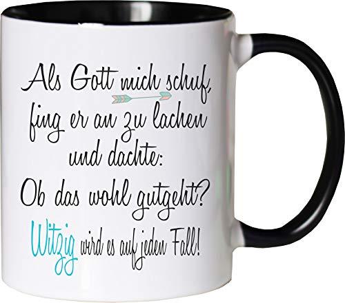 Mister Merchandise - Taza, diseño con texto en alemán