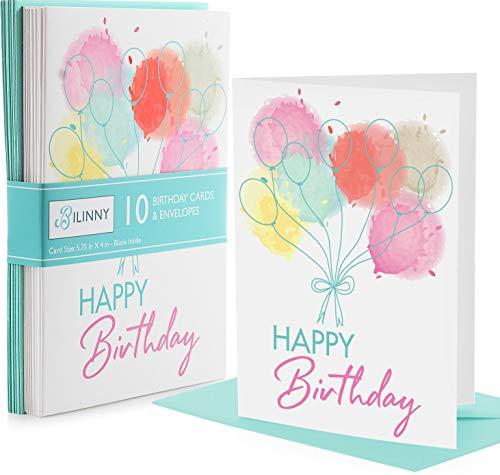 tarjeta cumpleaños fabricante Bilinny