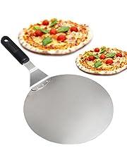 Pizzaschep / pizzapeddel voor pizzaoven met lange greep pizzaschep ook geschikt als broodschuiver en ovenschep pizzaschep