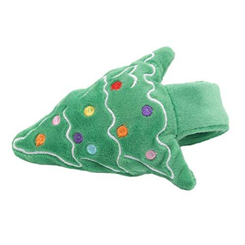 ZHDXW Pulseras de Navidad para bofetadas, bandas de presión, para fiestas, juguetes para niños, regalos de cumpleaños, regalos de Navidad, árbol