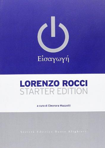 Il Rocci eisagoghé. Starter edition