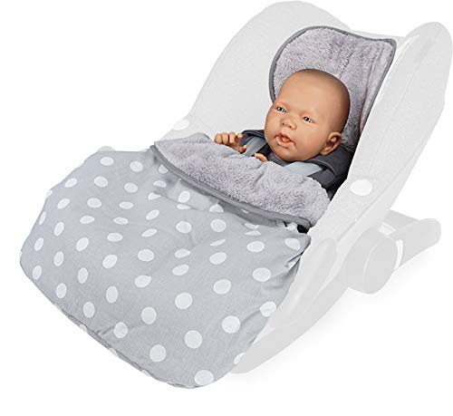 Priebes Cosybag STELLA | Fußsack 2in1 für Babyschale/Leichter Universal Fußsack und...