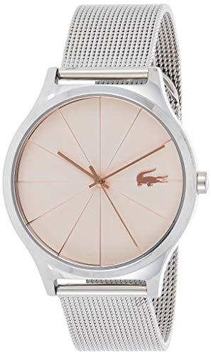 Lacoste Reloj Analógico para Mujer de Cuarzo con Correa en Acero Inoxidable 2001042