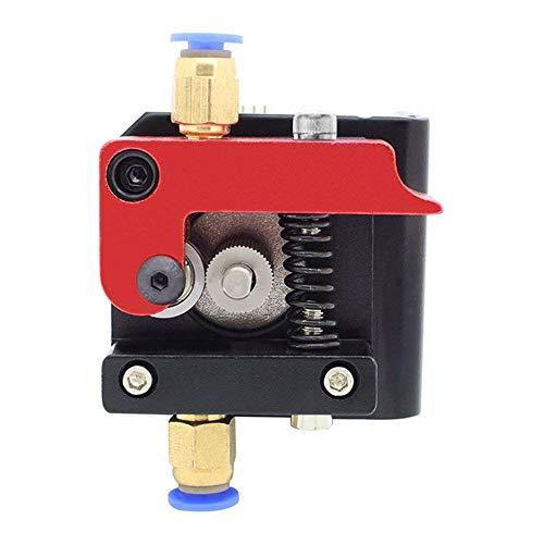 BKAUK Rechts Hand Mk8 Afstandsbediening Extruder ccessorieën 1,75 mm/3 mm Filament ll Metalen Afstandsbediening Extruder Frame Blok Voor Reprap 3D Printer Kossel Prusa