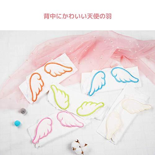 ベビー汗取りパッド-UiterBaby 天使の羽 赤ちゃんあせとり 6重ガーせ 綿100% 新生