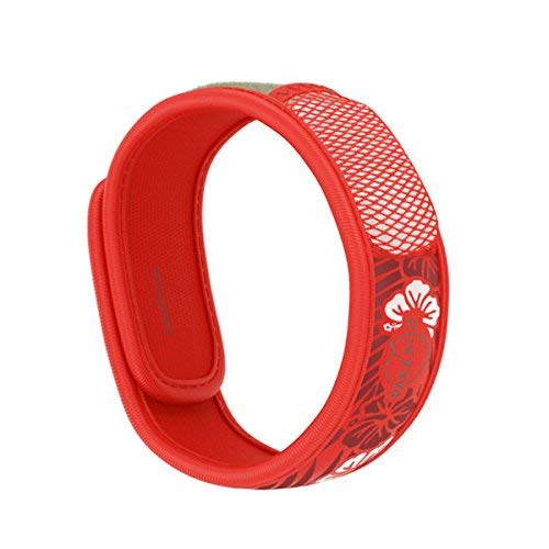 PARA'KITO Mosquito Insect & Bug Repellent Wristband - Waterproof, Outdoor Pest Repeller Bracelet w/ Natural Essential Oils (Hawaii)