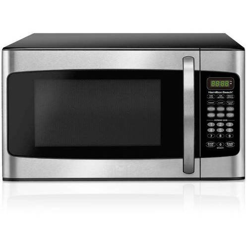 Hamilton Beach 1.1 cu ft Microwave - Stainless Steel