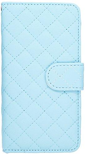 LD Case A000927 beschermhoes met kaartvakken voor iPhone 6, 47 inch, gewatteerd, blauw