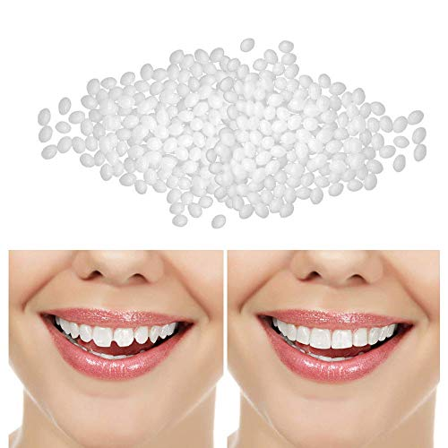Temporary Tooth Repair Kit Denture Adhesive Teeth Replacement Beads for Instant and Confident Smile Denture Teeth Missing Teeth Fake Teeth Cosmetic Teeth Big Teeth Gap