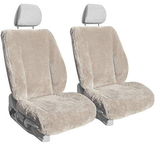 Front Seats: ShearComfort Custom Sheepskin Seat Covers for Toyota...