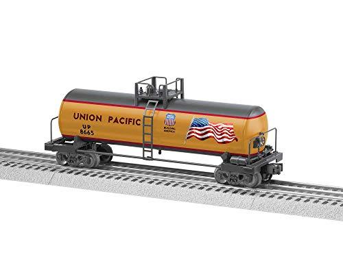 Lionel Union Pacific, Electric O Gauge Model Train Cars, Uni-body Tank Car