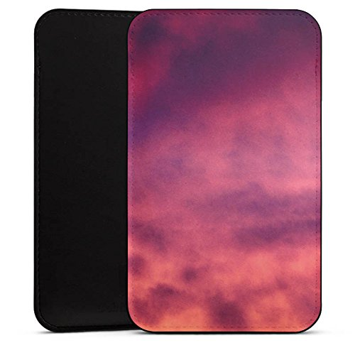 DeinDesign Cover kompatibel mit Wiko Highway Star Hülle Tasche Sleeve Socke Schutzhülle Lila Wolken Himmel