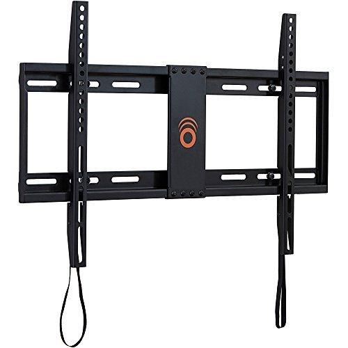 ECHOGEAR soporte de perfil bajo de pared para la mayoría de TV de 32'-80' - La TV queda a 3,17 cm de la pared - Ideal para TV de pantalla plana LED, LCD, OLED y Plasma - EGLL1-BK