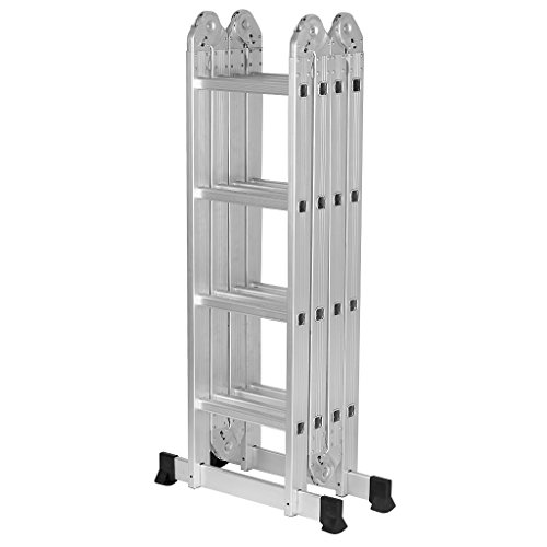 Finether 15.4ft Telescoping Ladder Multi Purpose...