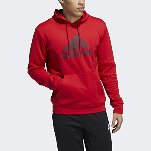 adidas Mens Sweater,Red,M