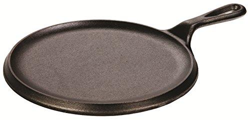 Lodge B00I4XNEC6 Logic 9' Cast Iron Round Griddle, Black