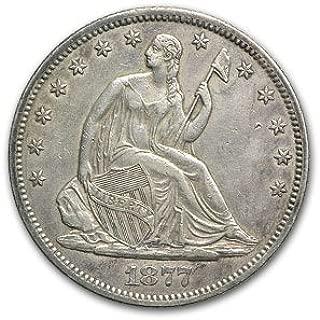 1877 S Liberty Seated Half Dollar XF Half Dollar Extremely Fine