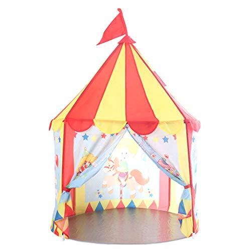 XUZg-wFence XZGang Tipi Indio for niños, Teatro de Carpa portátil Yurt Kinder Juego Tiendas de campaña for los niños Patio, Parque, Sala Espacio Infantil (Size : 100 * 100 * 150CM)